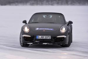 Michelin Winter Experience 2014 Porsche 911 Carrera 4S